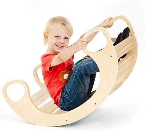CASSARO Waldorf 木製ロッキングプレイ (ナチュラル)