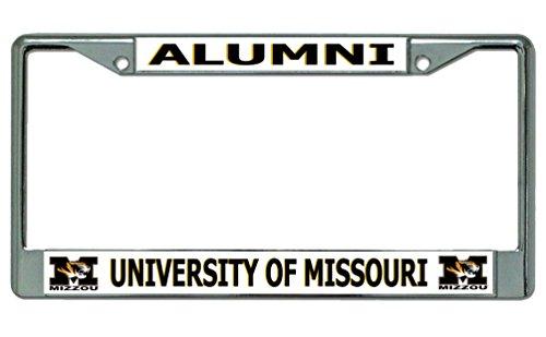 - University of Missouri Alumni Chrome License Plate Frame