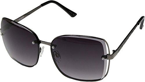 Steve Madden Women's Keegan Gunmetal Sunglasses