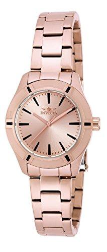 Invicta 18031 Pro Diver Reloj para Mujer acero inoxidable Cuarzo Esfera oro rossa: Amazon.es: Relojes