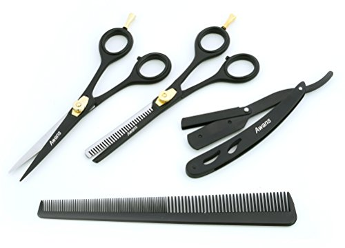 Review Hairdressing Barber Salon Scissors