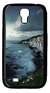 Atlantic West Coast Hd Custom Samsung Galaxy I9500/Samsung Galaxy S4 Case Cover Polycarbonate Black