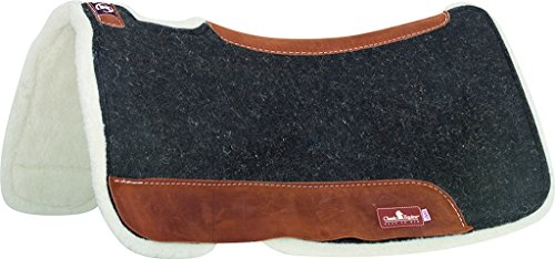 Classic Equine Zone Felt/Fleece Pad 31x32 Black for sale  Delivered anywhere in USA