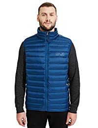 Live Out There Alps Men's Lightweight Water-Resistant Packable Goose Down Vest