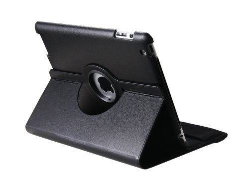 ASCENSION Apple iPad3 iPad2 Case Cover Leather Rotating Case for iPad 3 iPad 2 Case cover