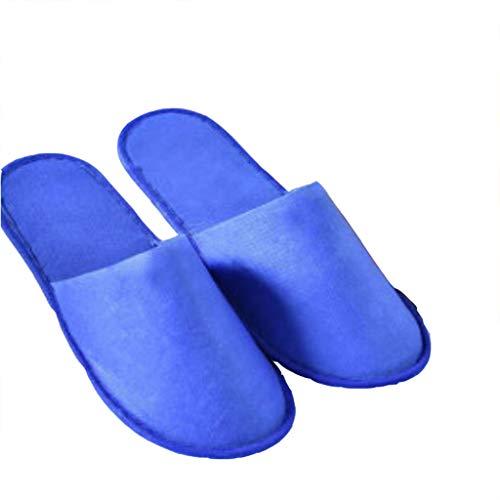 Club Pantuflas Zapatillas 50 Al Hogar Hoteles Gzz Deslizamiento En De El Desechables Blancas Zapatillas Pares Desechables Resistencia Bellez Azul Engrosamiento Entretenimiento r8crFWwqU