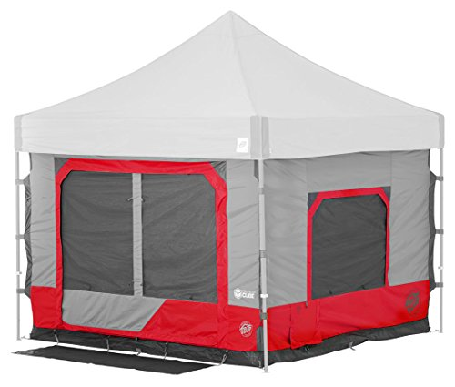 (E-Z UP CC10SLPN Cube 6.4 popup Outdoor Camping Tent, Punch)