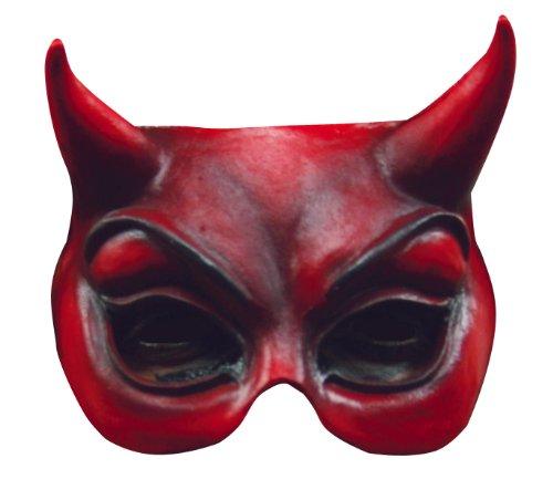 Evil Devil Half Mask -