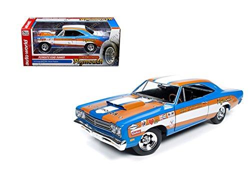 Don Auto World >> Amazon Com Auto World 1 18 Don Grotheer 1969 Plymouth