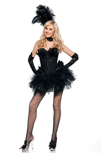 Puffy (Black Swan Tutu Costume)