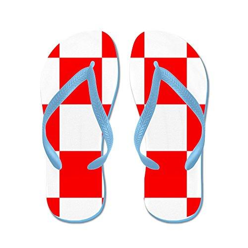 Croatia Coat Of Arms - Flip Flops, Funny Thong Sandals, Beach Sandals ()