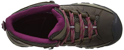 Rise Hiking Targhee Wp Boysenberry Beige III Keen Women's Weiss 0 Shoes High Mid 5Hfwpx0xYq