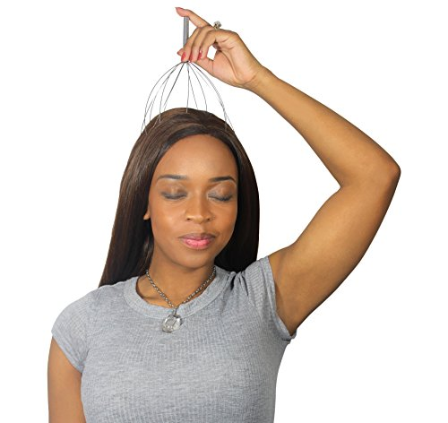 Dr Rogo Scalp Massager for Men and Women – Handheld Massage Promotes Hair Growth, Eases Stress and Helps You Relax