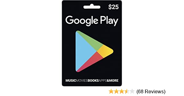 Google play Prepaid Card $25
