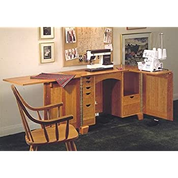 A Woodworking Plan And Instructions To Build A Sewing