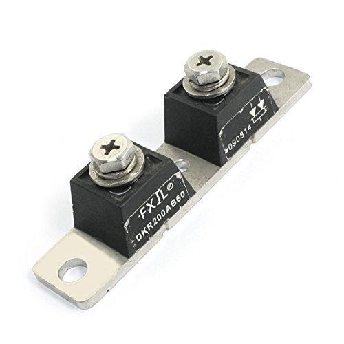 DKR-200AB60 AC 600V 200A Common Cathode Bloc d'alimentation redresseur Module