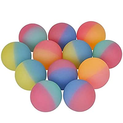 Rhode Island Novelty 60MM ICY Hi Bounce Balls, One Dozen: Arts, Crafts & Sewing