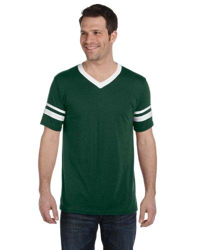 Augusta Sportswear Sleeve Stripe Jersey, Dark Green L