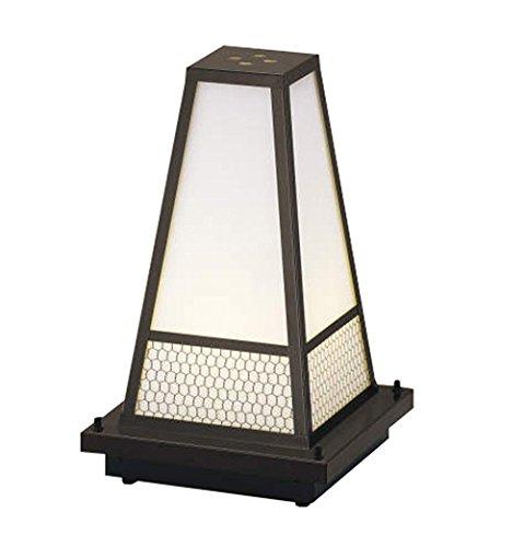 コイズミ照明 和風エクステリアスタンド ブラウン塗装 AU35659L B008P9VAKM 25454