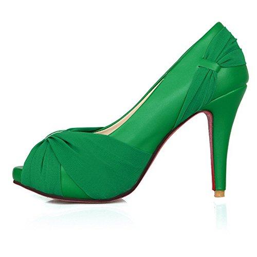 Adee , Damen Sandalen, grün - grün - Größe: EU 35