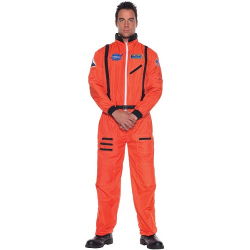 [Underwraps Men's Astronaut Costume, Standard] (Tv Themed Fancy Dress Costumes)