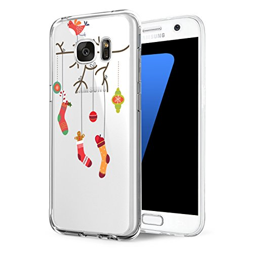 Price comparison product image Beryerbi Samsung galaxy s7 edge Case Soft Slim Ultra TPU&Silicone Protective Cover (5, galaxy s7 edge)