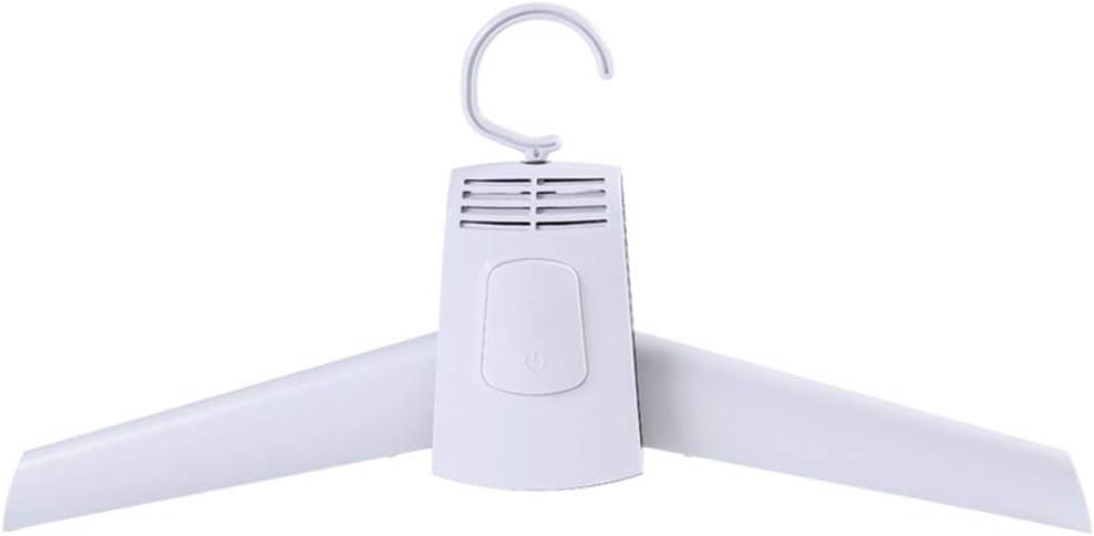 Lanceasy Percha eléctrica portátil para secar la Ropa Secadora Percha Plegable para Zapatos de lavandería de Viaje
