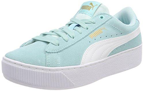 Blu Unisex Paradise Vikky Puma Jr island – Platform Sneaker Bambini White puma InFz0H1
