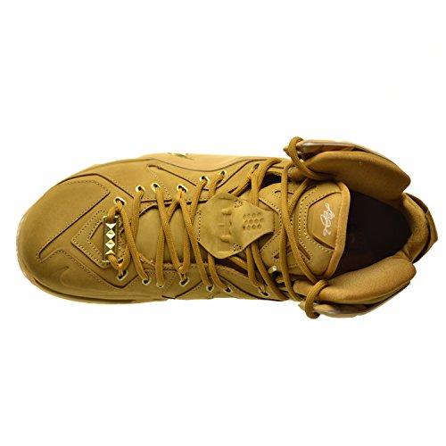 Nike Lebron Xii Ext Qs Scarpe Da Uomo Grano / Oro-grano Metallico 744287-700 Grano / Oro-grano Metallico