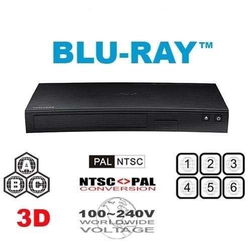 i Multi System Region Free Blu-Ray Disc DVD Player ()