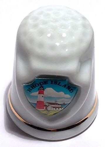 Rhode Island State Souvenir Collectible Lpco Thimble