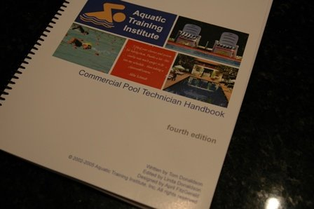 Commercial Pool Technician Handbook (Volume 1) by Aquatic Training Institute