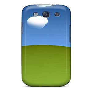 New DTp1241GcGD 3d Landscape Tpu Cover Case For Galaxy S3