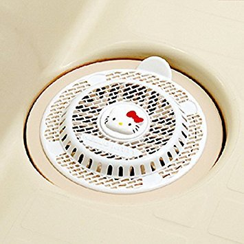 Hello Kitty Hair Stopper Catcher Shower Hair Trap Drain Protector Strainer - Home Kitty Hello Accessories
