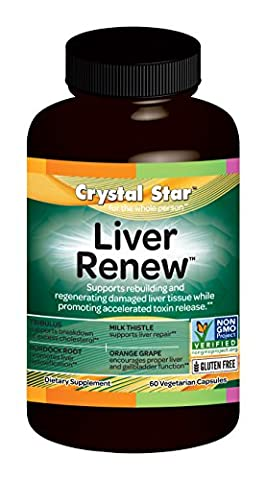 Crystal Star Liver Renew Herbal Supplements, 60 Count - Health Star