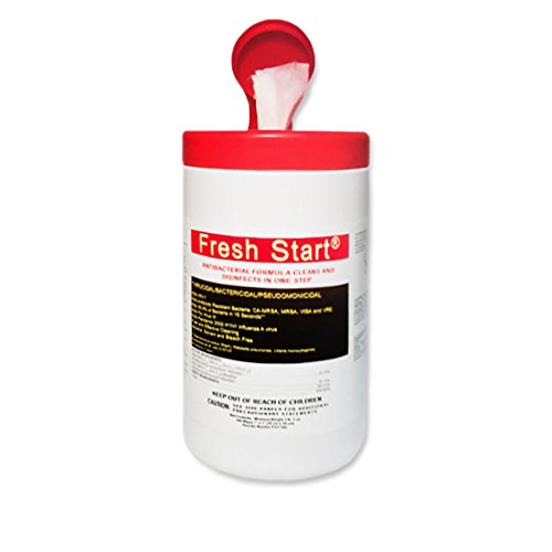 - Sell all the Things Fresh Start Antibacterial Wipes (6),, 5 per wipe, 160 wipes per container (960 total wipes), 7