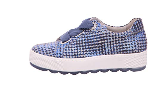 top piattaforma scarpa scarpa Blue sportiva Bassa 535 Gabor Donna 26 Skateboard low SOwqH0pw