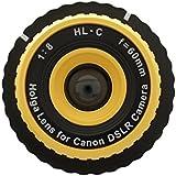 Holga Lens Yellow for Canon EOS 1100D 760D 8000D 750D 100D 650D 600D 550D 60Da 60D