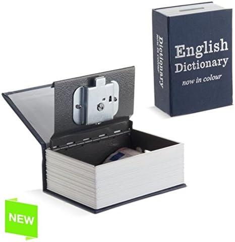 Libro Caja Fuerte - Hucha Diccionario 11,5X8X4,5 CM: Amazon.es: Hogar