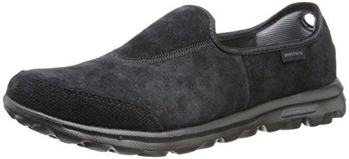 Skechers Performance Women's Go Walk Winter Memory Foam Slip-On Walking Shoe,Black,6 M US
