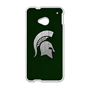 Michigan State HTC One M7 Cell Phone Case White KS4579459