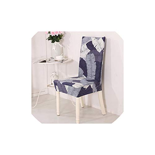 pleasantlyday Stretch Dining Chair Cover Restaurant Banquet Folding Chair Covering,16,Back Height 45 to 60