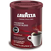 Lavazza Premium House Blend Ground Coffee, 10-Ounce Can