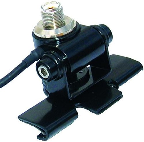MFJ-345S Adjustable Lip Antenna Mount with UHF (SO-239) Connector and 17 Feet of -