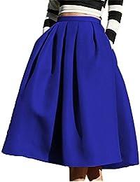 Face N Face Women's High Waisted A line Street Skirt...