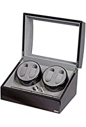 Four Watch Winder With Japanese Mabuchi Motor, 750, 1000, 1500 and 1800 TPD.