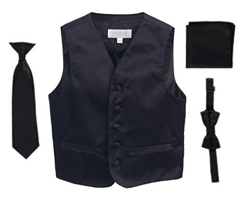Gioberti Boys 4pc Formal Vest product image