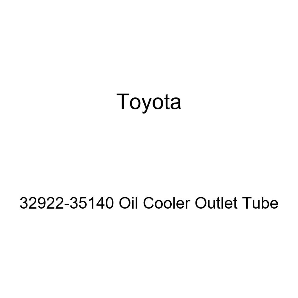 Toyota 32922-35140 Oil Cooler Outlet Tube