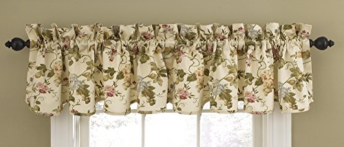 Waverly 10725050X015CME Napoli 50-Inch by 15-Inch Window Valance, Cameo