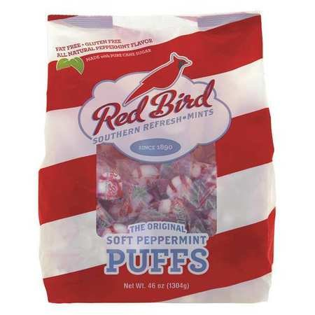 Red Bird 6240RWP Peppermint Puffs, Peppermint, Tub, 46 (Peppermint Tub)